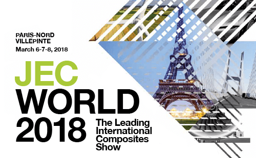 JEC WORLD 2018 - 6 au 8 mars 2018 - Paris